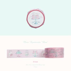 """マスキングテープ[Marie Nyantoinette """"Rose""""]ピンク"""