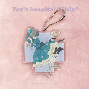 """キーチェーン[Toy's hospital """"Skip""""]"""