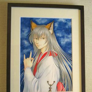 額装原画 『狐』
