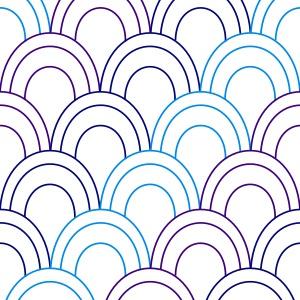 SVGファイル 鱗柄 パターン 3色