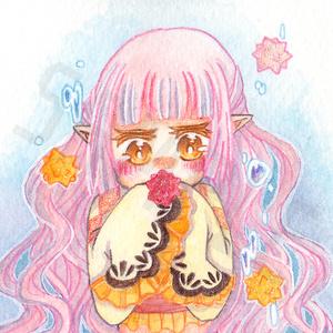 【原画】金平糖-桜-