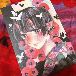 【創作】ポストカード5枚セット