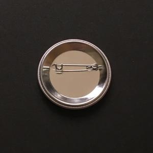 パンケーキ缶バッチ - 44mm