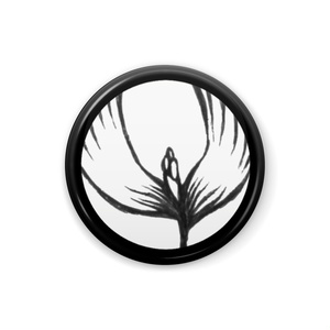 白黒の世界 缶バッヂ(6)