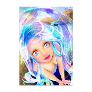 ポストカード(人魚姫)