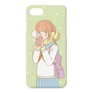 ぬくぬくガールiPhoneケース