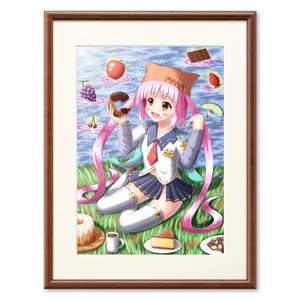 マナちゃんのピクニック プリモアート