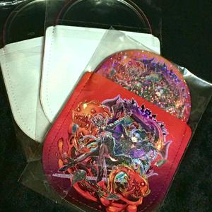 オリジナルキャラクター袋付き缶ミラー(地下からの解放)