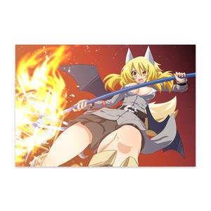 悪魔の狐 妖狐 ポストカードその2