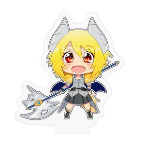 悪魔の狐 妖狐 アクリルフィギア