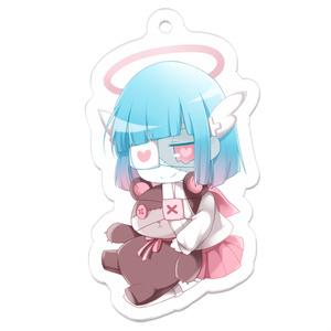 天使ゾンビちゃんアクキー