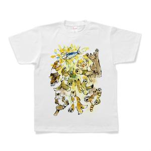 お魚が食べたい猫Tシャツ