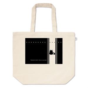 カラーセラピー 色彩療法 ホリスティック 光 音 周波数 ほっこり 癒し系 すっきり スタイリッシュ 猫 family 親子 トートバッグ