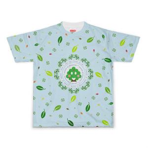 カラーセラピー 色彩療法 ホリスティック 光 音 周波数 クローバー 四つ葉 leaf Tシャツ 半袖