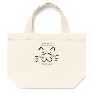カラーセラピー 色彩療法 ホリスティック 光 音 周波数 夢の森 イラスト 手書き ロゴ 笑顔 キュン cat ねこ 猫 トートバッグ