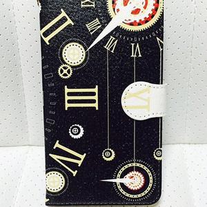スチパン風★手帳型ケース【AndroidMサイズ】