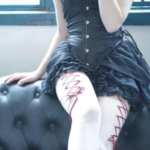 Corset piercing / stockings