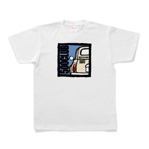 500CLUB Tシャツ(白)
