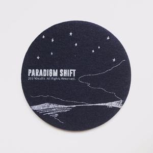 PARADIGM SHIFT coaster