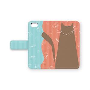 ねこ手帳 pink