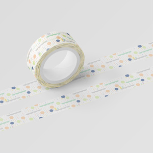 colorful tree tape