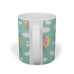 空の旅のマグカップ