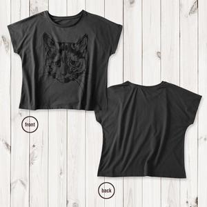 ドルマン猫Tシャツ キュー