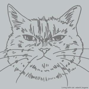 ドルマン猫Tシャツ ポンコ