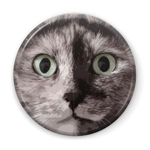 猫ブローチ キュー