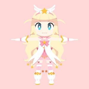マジカルミルヒちゃん 3Dモデル