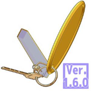 3D ホテルキー 鍵(クリスタ1.6.0~・コミスタ用)