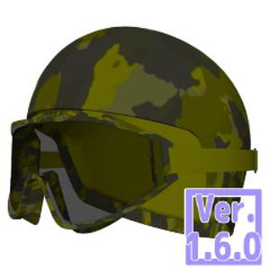 3D ゴーグルとヘルメット(クリスタ1.6.0~・コミスタ用)眼鏡