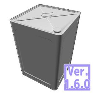 無料! 3D 一斗缶(クリスタ1.6.0~・コミスタ用)