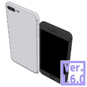3D 2016 スマートフォン(クリスタ1.6.0~・コミスタ用)スマホ