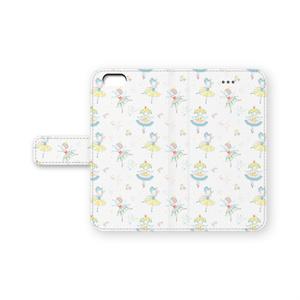 手帳型iPhone6ケース「バレリーナちゃん」
