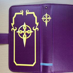 紫天の書スマホカバー+携帯クリーナー
