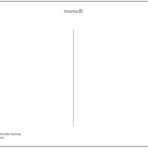 【ポストカード】momo缶 2014winter (¥150-)