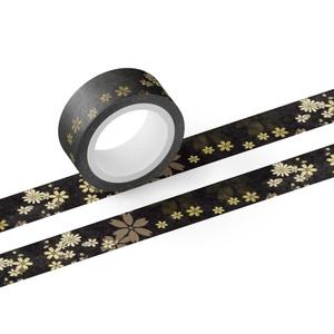 金色風和柄マスキングテープ(燭台切イメージ)