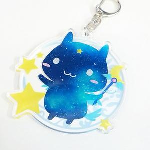 Soraha青い妖精さんアクリルキーホルダー【両面】