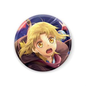 【紫陽党×モノクロプログラム】チェロ・A・ダート 缶バッジ 44mm
