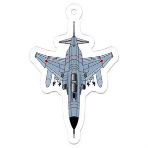 航空自衛隊F-4EJ改アクリルキーホルダー