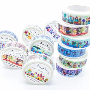 オリジナルマスキングテープ  色の構成 6種セット