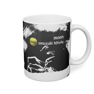 月のある風景 32 ※版画効果・黒背景