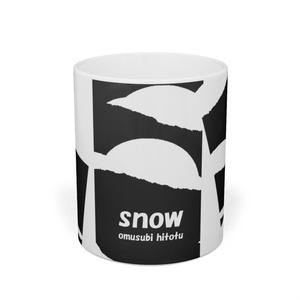 雪のある風景 01 ※三連