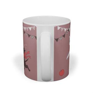 白黒猫マグカップ