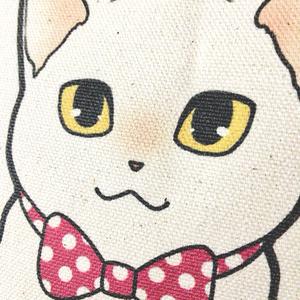白猫と一緒におでかけバッグ