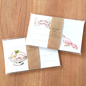007Message Card  PeachMelba《8sheets》