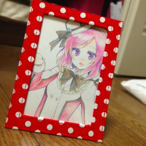 まきちゃん手描きイラスト