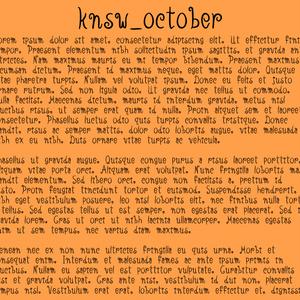knsw_october ハロウィンにオススメな欧文フォント