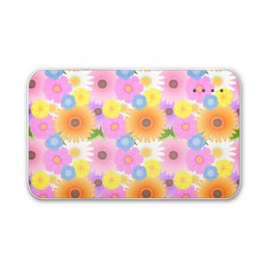 花柄モバイルバッテリー
